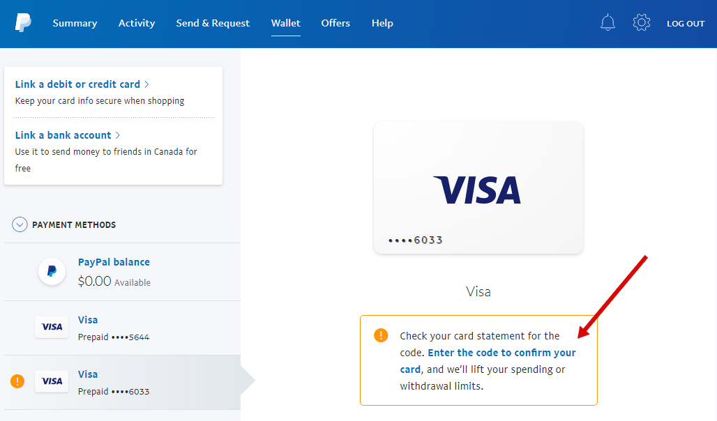 Virtual Card buy for paypal Verify | SwiftPayCard